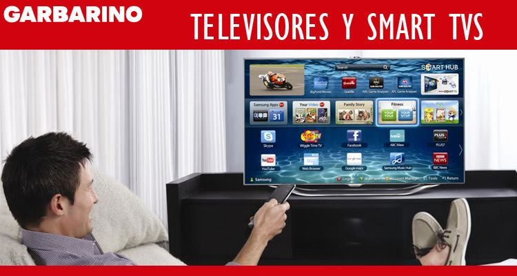 Televisores Garbarino smart tvs