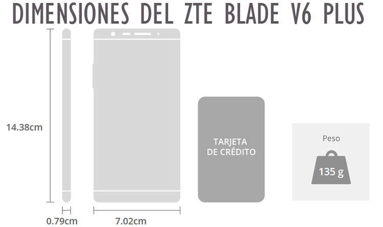 zte blade v6 plus caracteristicas y especificaciones